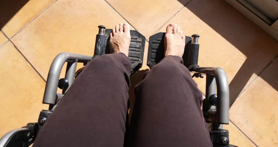 point of view pov wheelchair #1013285798