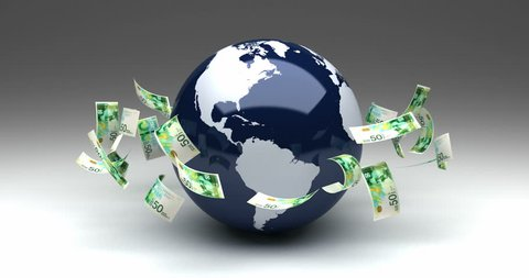 Global Business with New Israeli Shekel (seamless)3d rendering