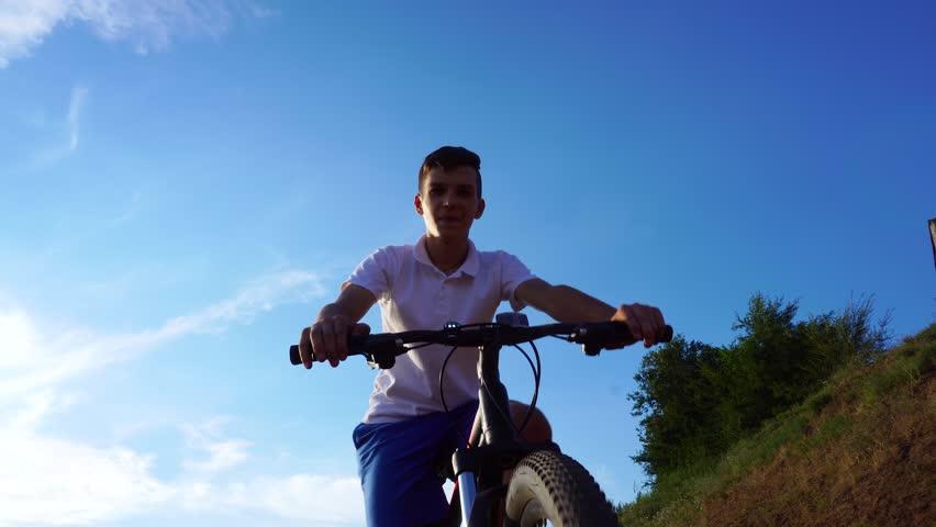 Bike sport mountain bike ride | Shutterstock HD Video #1013667008