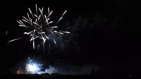 Timisoara, Romania - Fireworks August 3, 2017