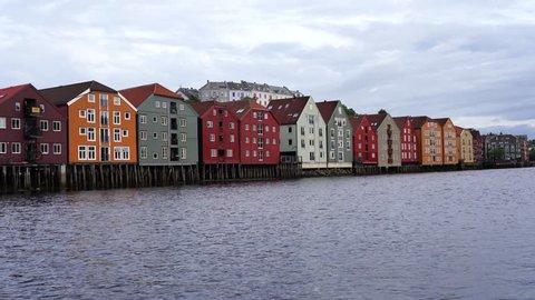 Beautiful city of Trondheim in Norway