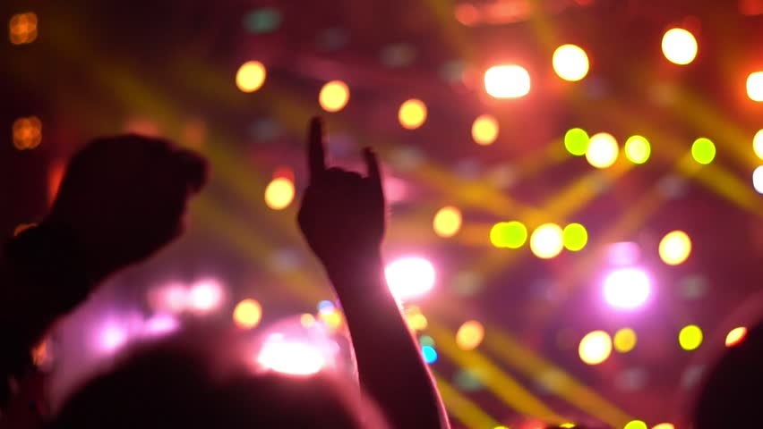 People at a rock concert | Shutterstock HD Video #1013904518