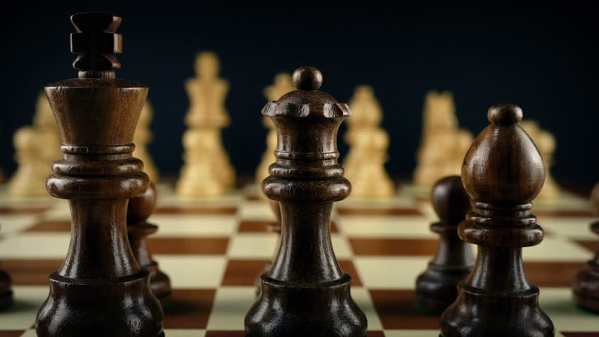 Hand Moves Chess Pawn First Move | Shutterstock HD Video #1013920868