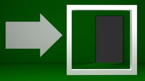 3D animation signal exit