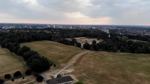 Drone Aerial View City Of Coventry England
