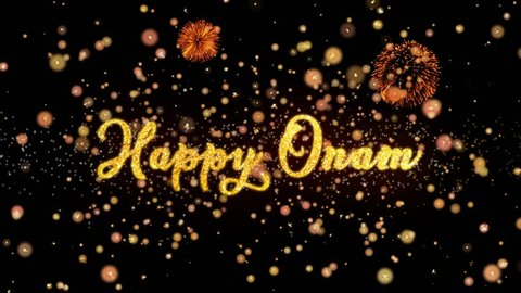 happy onam abstract particles and stock footage video 100 royalty free 1014299798 shutterstock