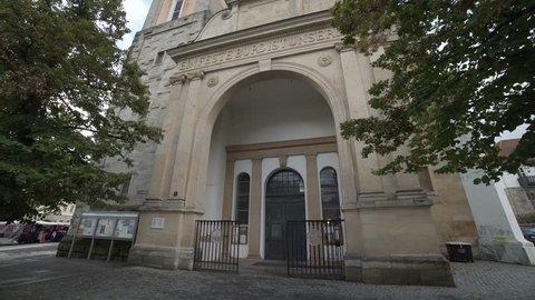 Main Church in Eisenach (Georgenkirche) where Martin Luther preached, 4K UHD