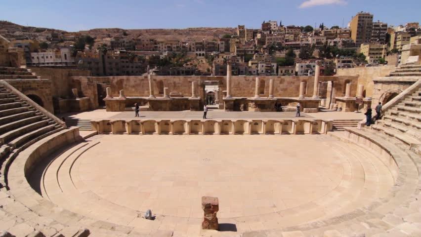 Amman Roman Theatre in Amman,Jordan 18.05.2011