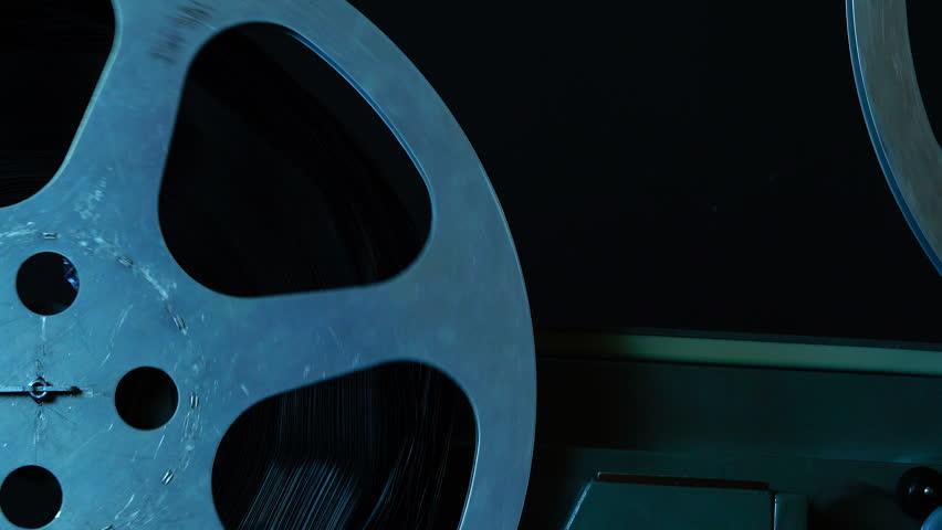 Old film projector works | Shutterstock HD Video #1014380108