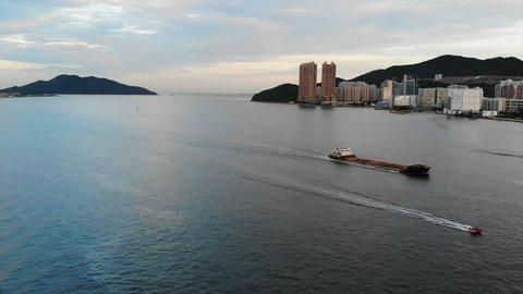 Lei Yue Mun -victoria harbor view