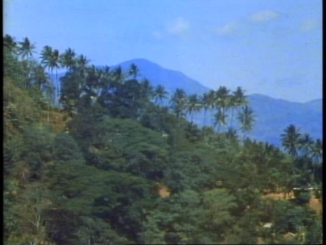 KANDY, SRI LANKA, 1982, Sri Lanka, the mountains, Shangri La like feeling | Shutterstock HD Video #1014457598