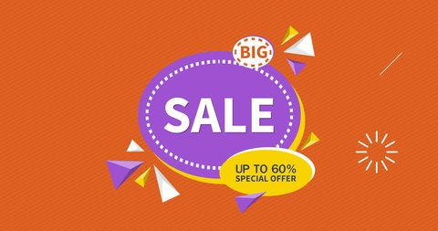 Big Sale Up to 60% Special offer off ,Title,Lower third,Transition,Logo and Background