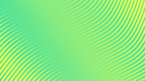 Colorful wave band surface gradient animation. Future geometric patterns motion background. 3d rendering. 4k UHD