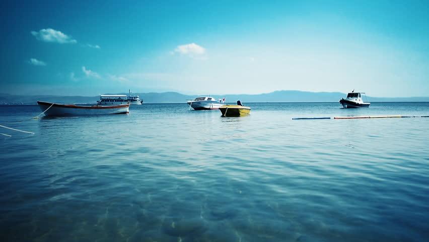 Fishing boats in Marmara sea #1014731798