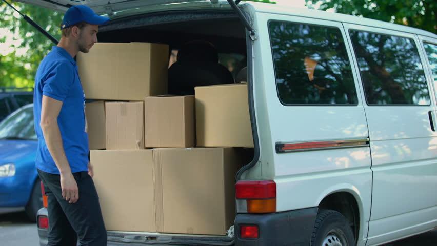 Image result for delivery van door to door