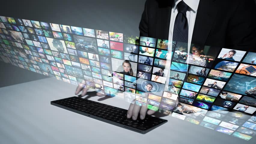Visual archive concept. | Shutterstock HD Video #1015156978