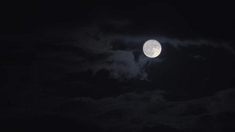 Moon Timelapse 4K