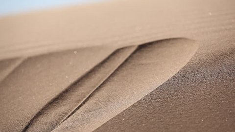 quicksand in the desert