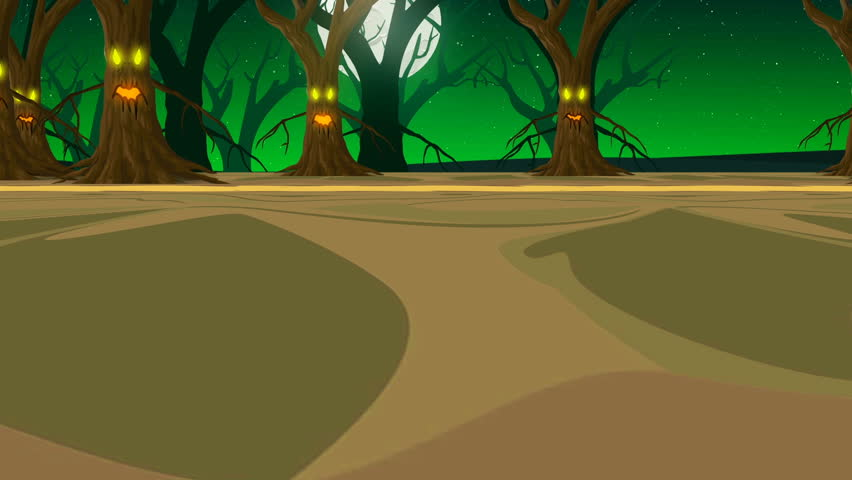 Spooky Halloween Background, Forest with Stock Footage Video (100%  Royalty-free) 1015516168 | Shutterstock