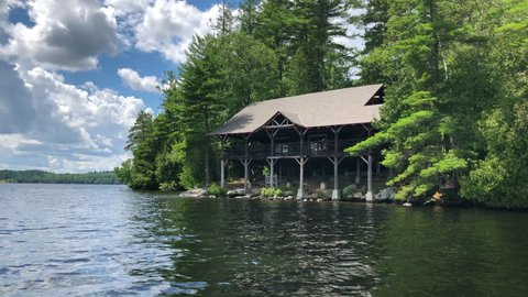 Lakefront Homes Adirondacks