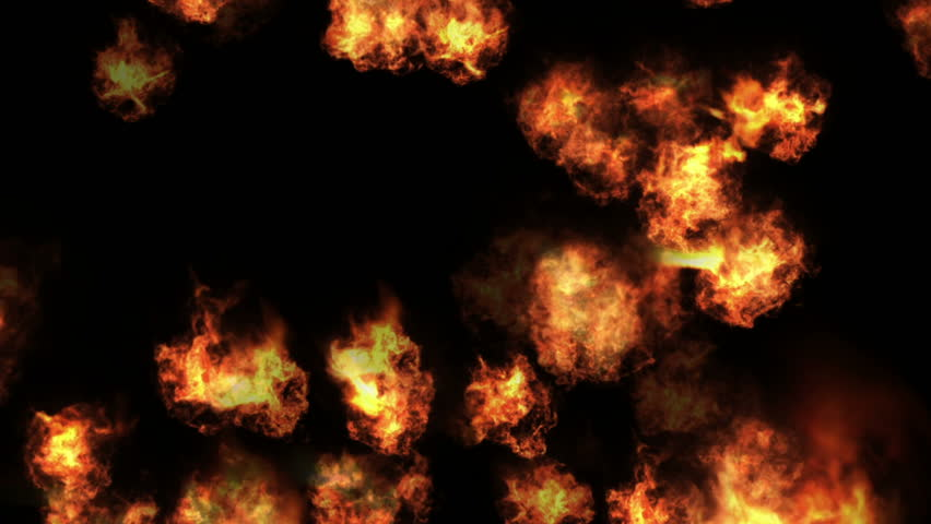 4k Hot fire burning background,Abstract powerful explosion particle smoke power firework energy. cg_04499_4k