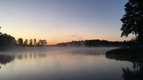 Early Morning dew/fog from the waters of Lake Anna in Virginia.