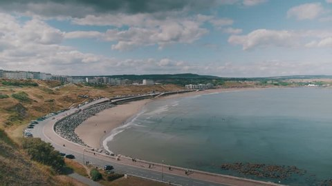 A time lapse of the northern bay of Scarborough.