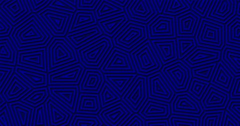 4k Royal navy deep blue geometric background. Abstract shapes looped move. Stylish modern motion design. Midnight elegance studio wall. Simple clean backdrop for christmas, night club, sales banner