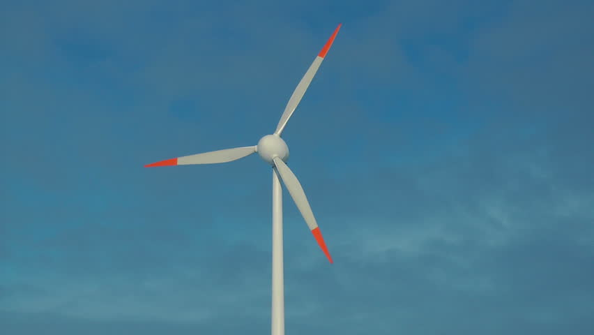 Single Wind Generator Rotating Against Stock Footage Video (100%  Royalty-free) 1016338 | Shutterstock