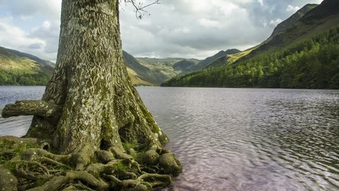 Motion Time Lapse of Buttermere and Fleetwith Pike, Lake District, UK