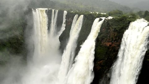 Jog Falls is the second highest plunge waterfall in India located in Sagara taluk of Karnataka. It is a segmented waterfall which, depending on rain and season, becomes a plunge waterfall.