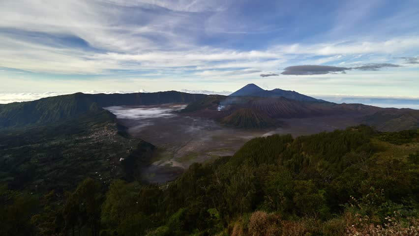 Time Lapse of Mount Bromo volcano | Shutterstock HD Video #1016978428