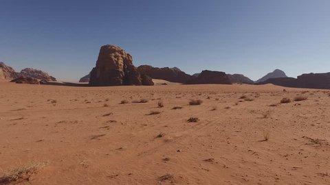 Middle East Southern Jordan Wadi Rum Desert