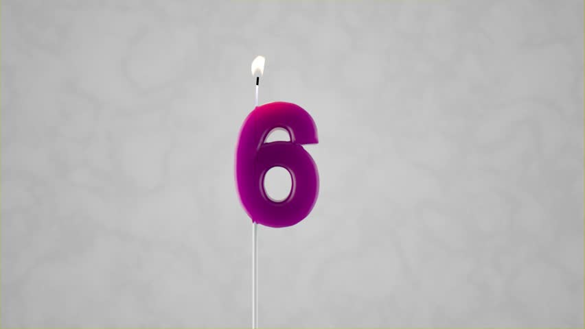 Individual Birthday Candles with Matte | Shutterstock HD Video #1017638908