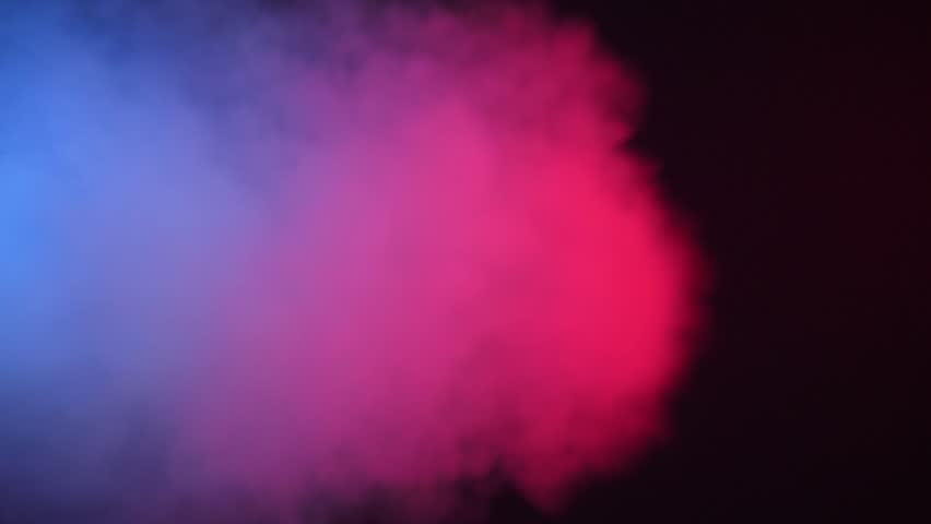 Colour cloud smoke fumes background | Shutterstock HD Video #1017654538