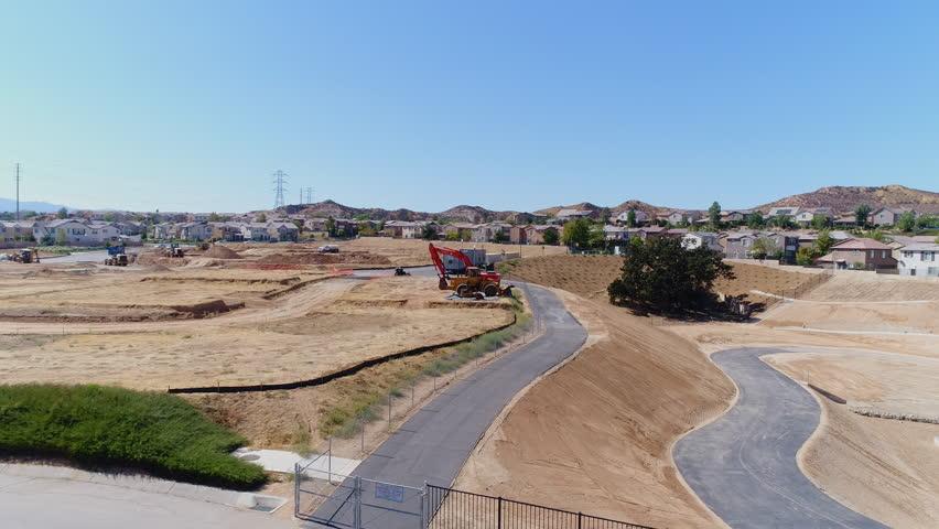 Suburbia Construction Site2 | Shutterstock HD Video #1017959938