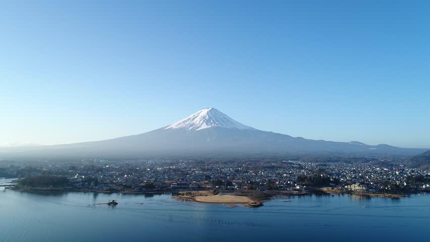 Landscape of Mt. Fuji | Shutterstock HD Video #1017976708