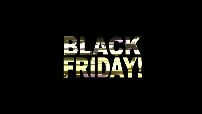 Cool neon glitch BLACK FRIDAY text animation background logo seamless loop | Shutterstock HD Video #1018144918
