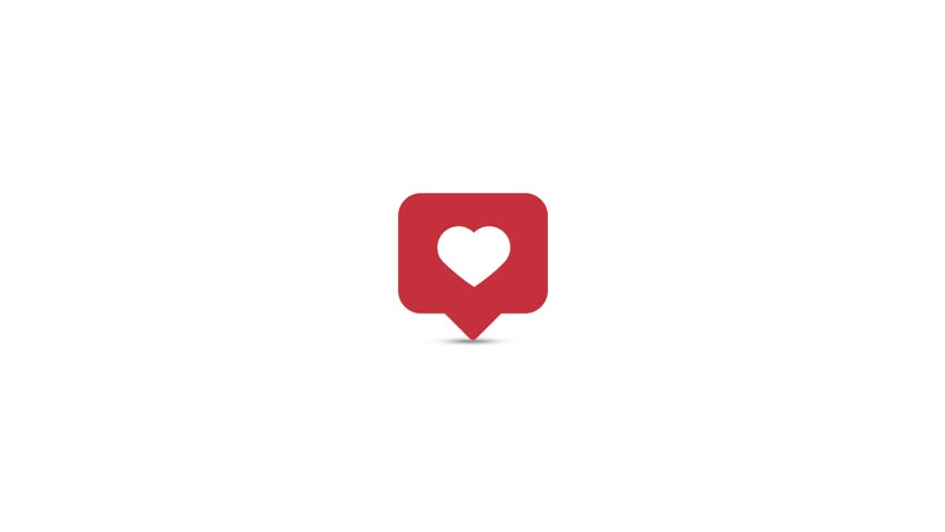 3d Instagram logo loop with more fast movement.
