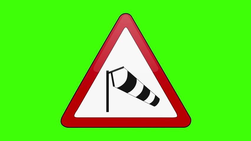 Symbol Side Winds Green Screen   Shutterstock HD Video #1018173658