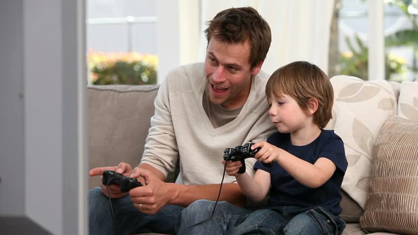 Видео отец с сыном