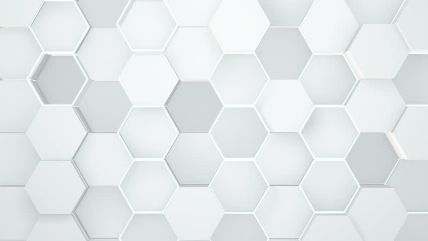 Abstract hexagonal geometric surface. | Shutterstock HD Video #1018785088