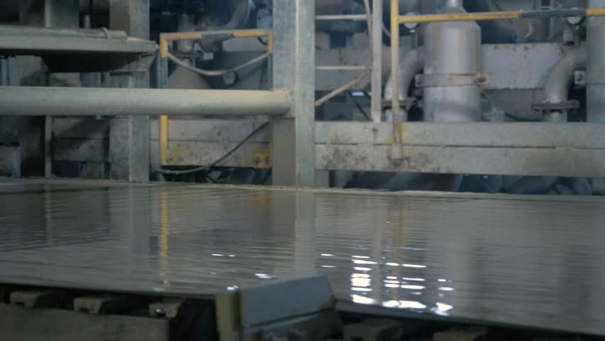 Cardboard Drying Machine | Shutterstock HD Video #1018786288
