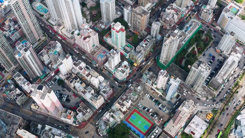 Yuen Long, Hong Kong 21 October 2018:- Hong Kong city | Shutterstock HD Video #1018857628