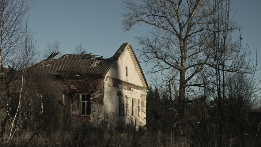 Abandoned House  Apocalypse  Stock Footage Video (100% Royalty-free)  1019188348 | Shutterstock