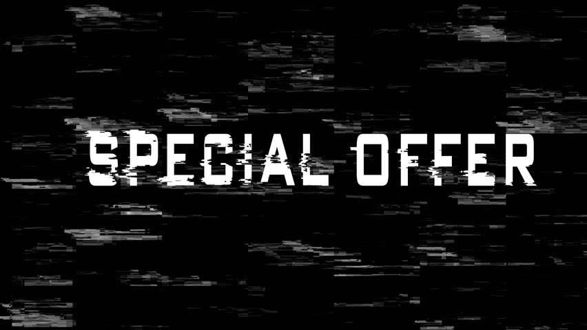 Special Offer sign on screen | Shutterstock HD Video #1019334778