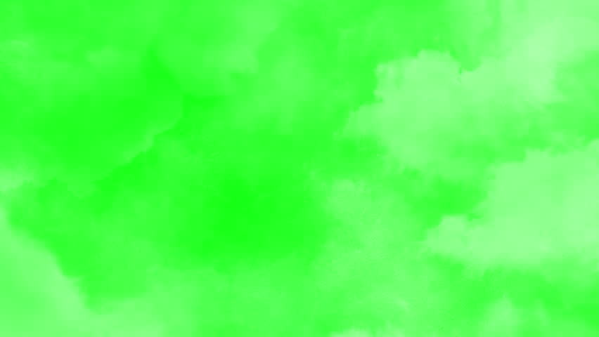 Flying through clouds transition - green screen | Shutterstock HD Video #1019350318