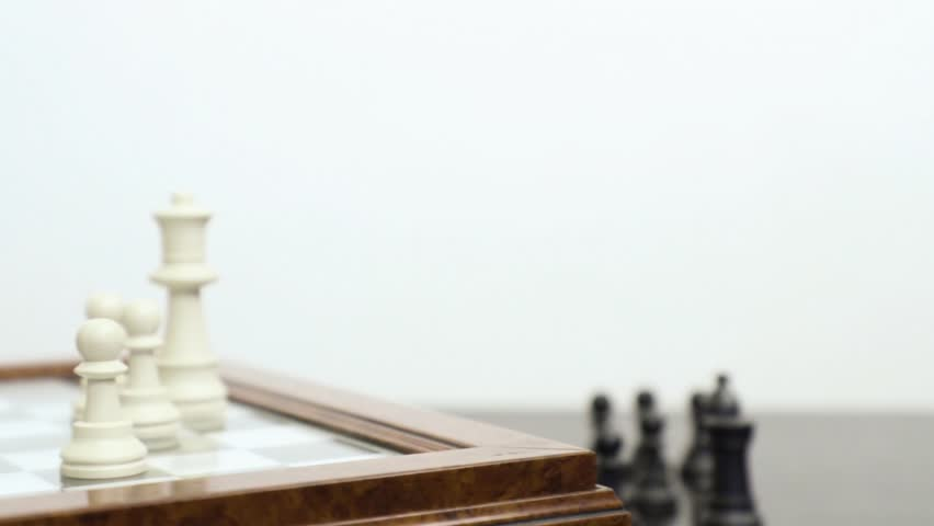 Playing the chess | Shutterstock HD Video #1019356138