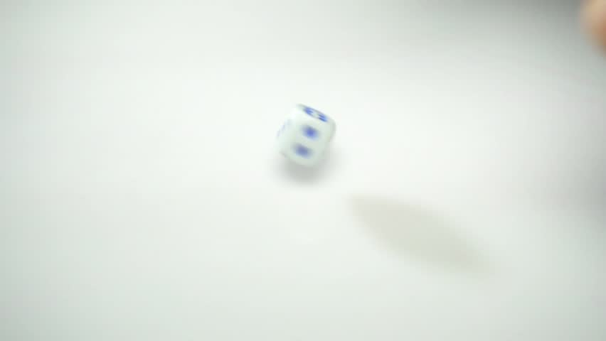 dice, game cubes, throwing six #1019612128