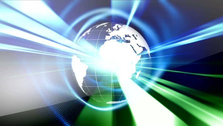 Globe animation background. Futuristic Bright Global Technology, Networking and Cloud Computing Design Concept with Globe and World Map Planet Earth global concept world data exchange binary code.  | Shutterstock HD Video #1020267298